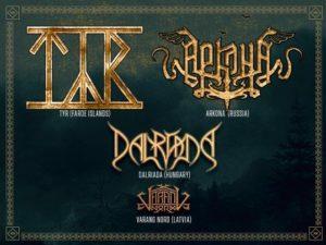 Heathen Heroes -kiertue siirtyy – folk metal -spektaakkelia päästään todistamaan vasta ensi vuonna