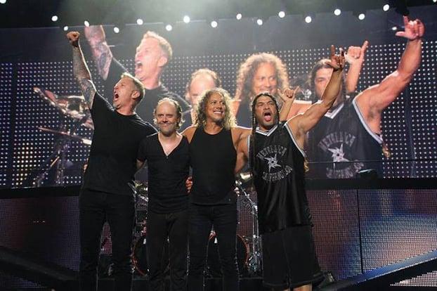 Metallica Keikka